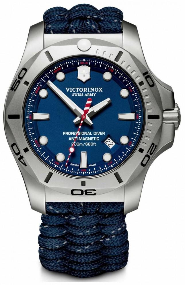 Victorinox Swiss Army | Mens I.N.O.X Professional Diver | Blue Dial | Blue Strap 241843
