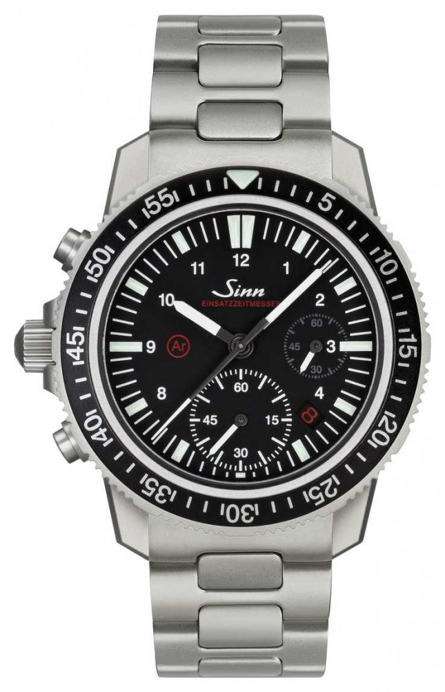 Sinn EZM 13 The Diving Chronograph Watch 613.010 BRACELET
