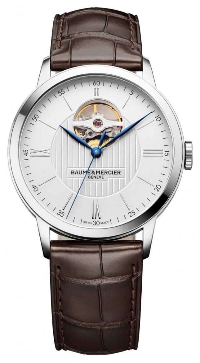 Baume & Mercier | Men's Classima | Brown Leather | Silver Dial | Automatic | M0A10274