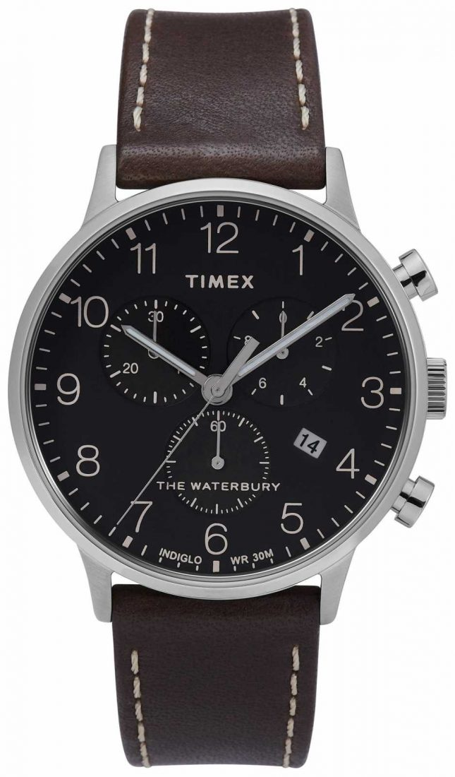 Timex | Mens Waterbury Classic Chrono | Black Dial | TW2T28200D7PF
