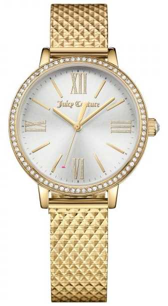 Juicy Couture (no box) Womans Socialite Watch Gold 1901613
