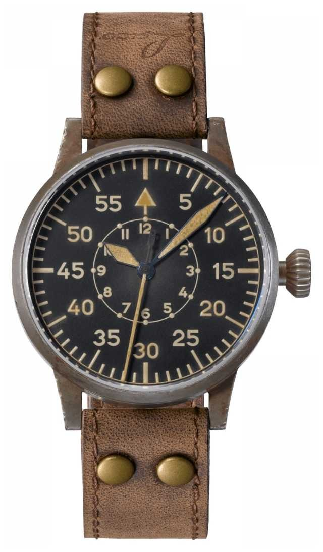 Laco   Leipzig Erbstuck  Pilot Watches   Leather   Hand-wound 861936