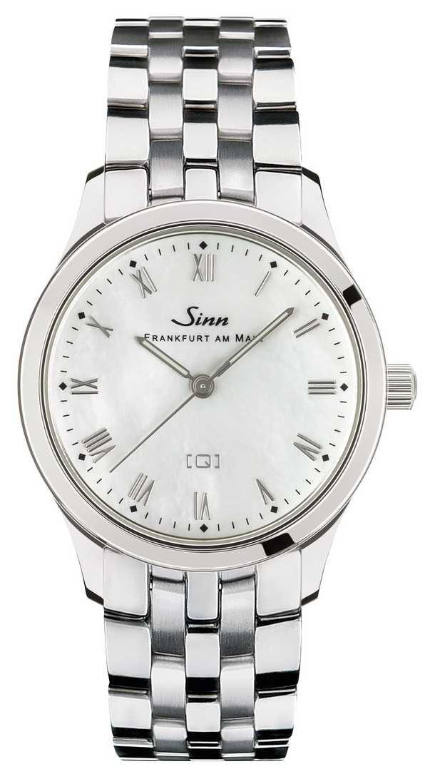 Sinn St Mother-of-pearl W Stainless Steel Bracelet 434.011