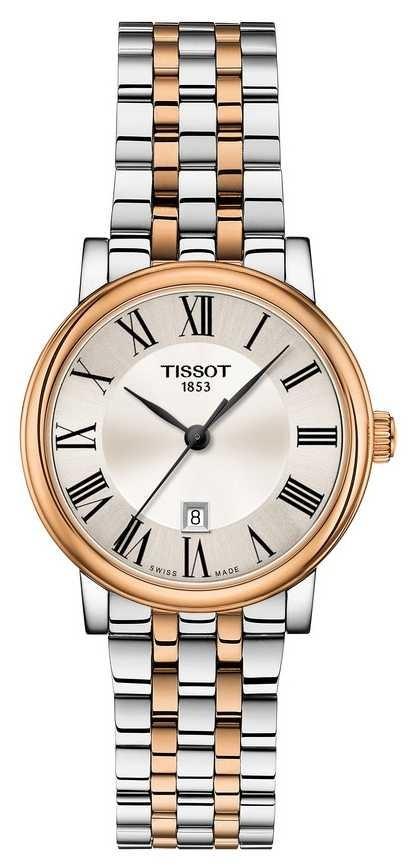 Tissot   Carson Premium Lady   Two Tone Bracelet   T1222102203301