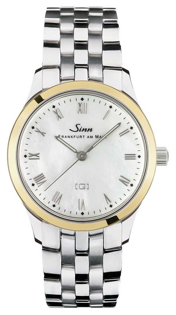 Sinn 434 St GG Mother-of-pearl W Stainless Steel Bracelet 434.021