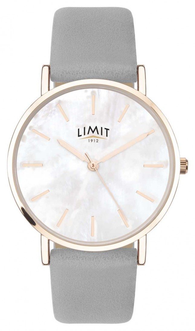 Limit   Womens Secret Garden   Grey Strap   Mother Of Pearl Dial   60049.73