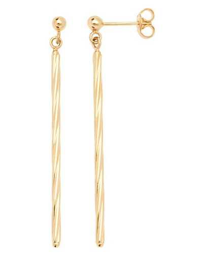 Treasure House 9k Yellow Gold Drop Earrings ES627