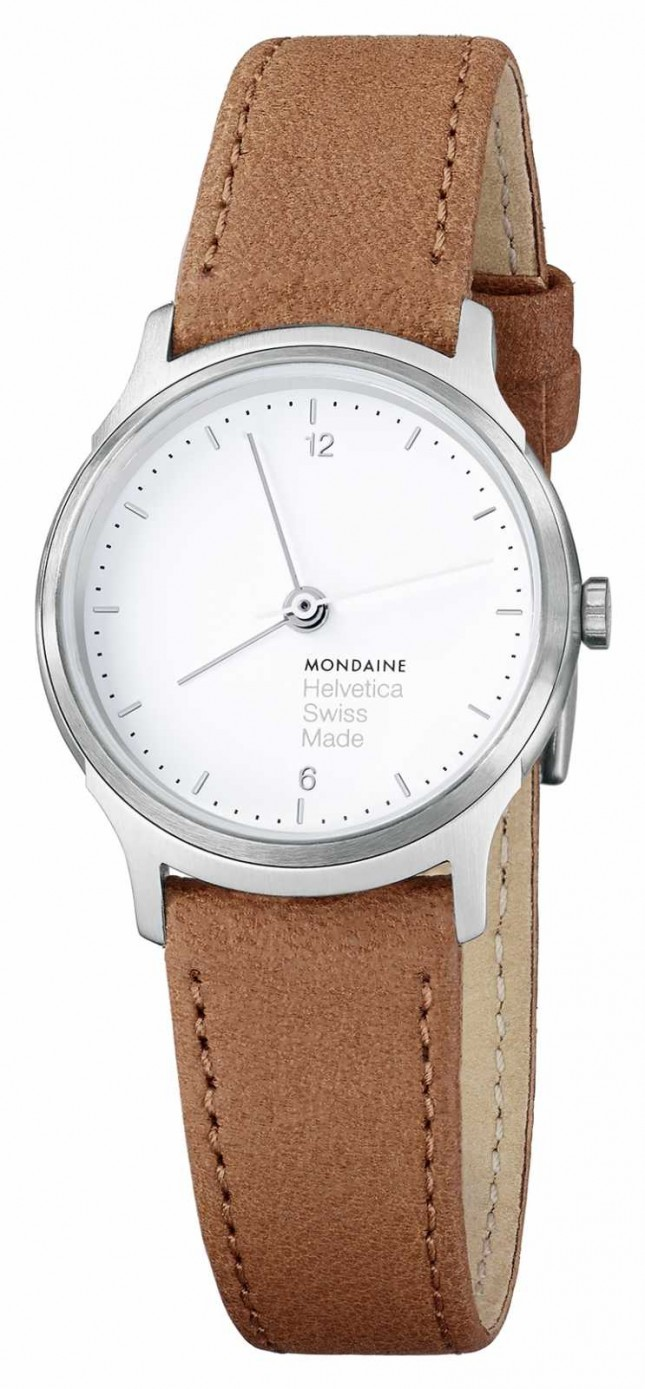 Mondaine Women's Mondaine Leather Strap Watch MH1.L1110.LG
