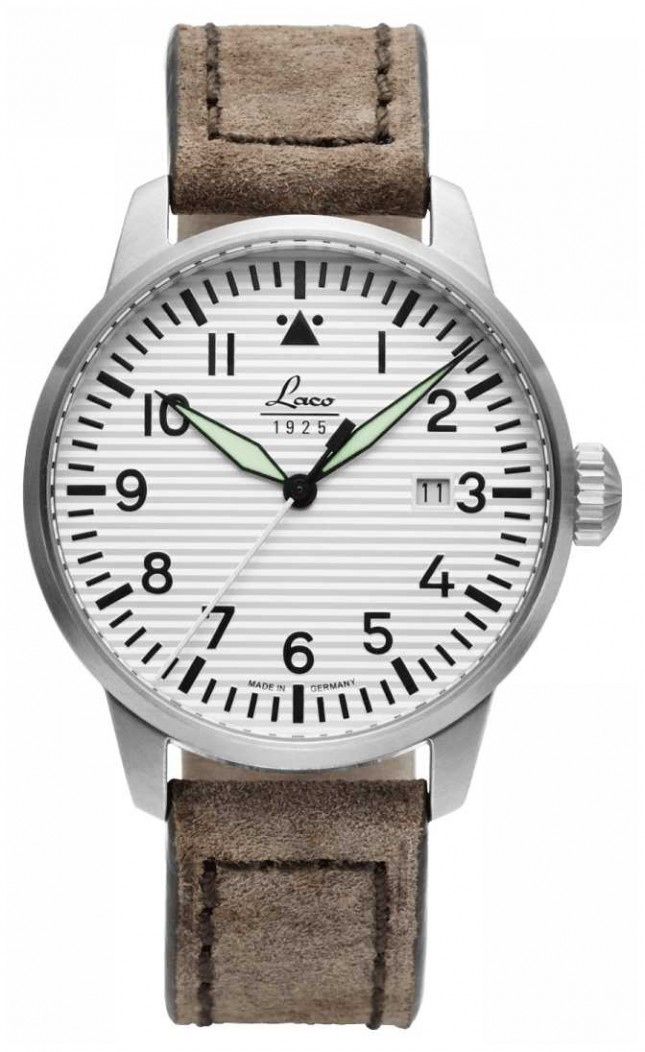Laco | Basel | Pilot Watches A | Taupe 861971