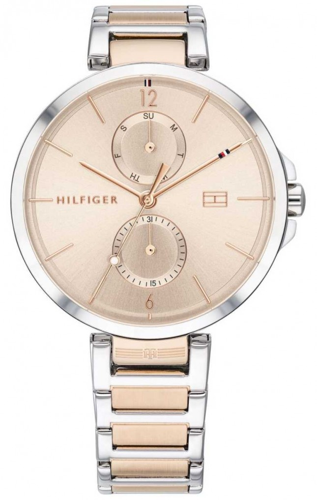 Tommy Hilfiger Angela | Two Tone Stainless Steel Bracelet | Blush Dial | 1782127