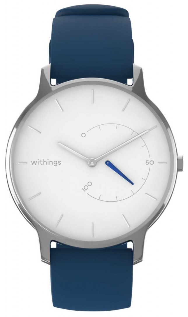 Withings Move Timeless Chic – White, Blue Silicone HWA06M-TIMELESS CHIC-MODEL 2-RET-INT