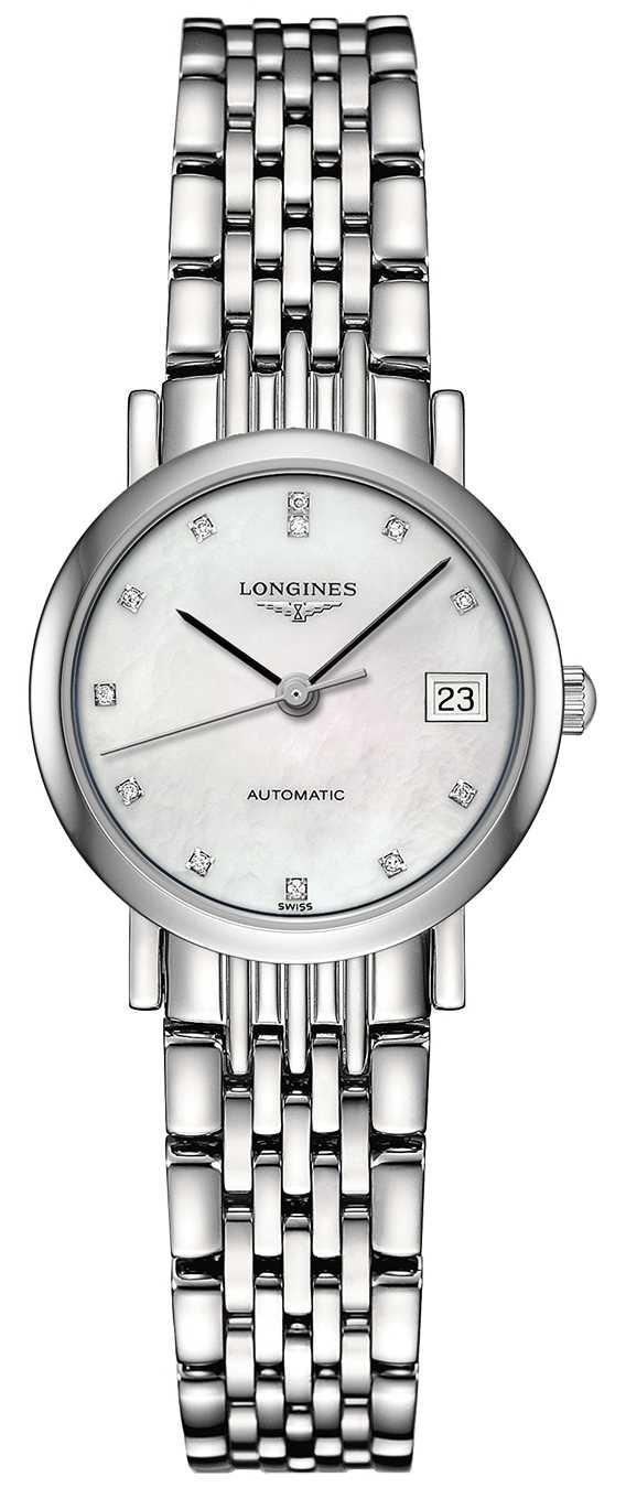 Longines | Elegant Collection | Women's 25.5mm | Swiss Automatic | L43094876