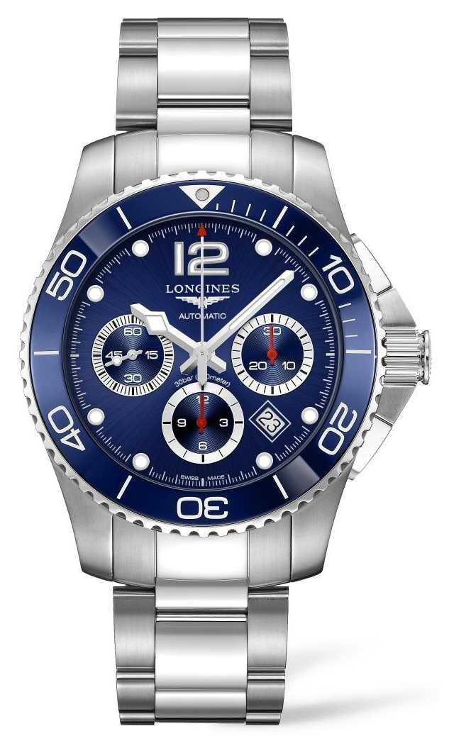 Longines | HydroConquest Ceramic | Men's 43mm | Swiss Automatic | L38834966