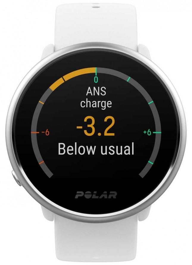 Polar | Ignite | Activity and HR Tracker | White Silicone | M/L | 90071067