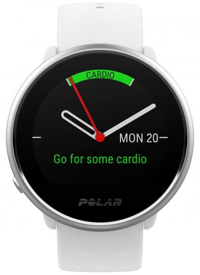 Polar Ignite | Activity Tracker | Heart Rate | White Silicone | S 90072456