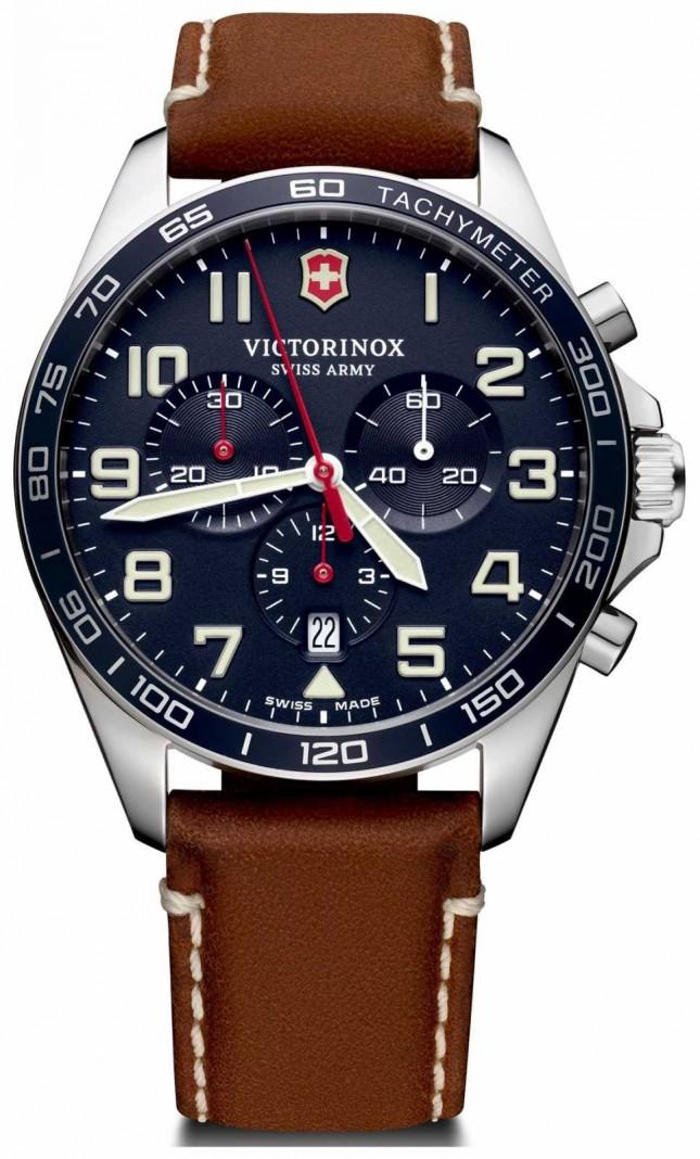 Victorinox Swiss Army | Mens Fieldforce | Chronograph | Blue | 241854
