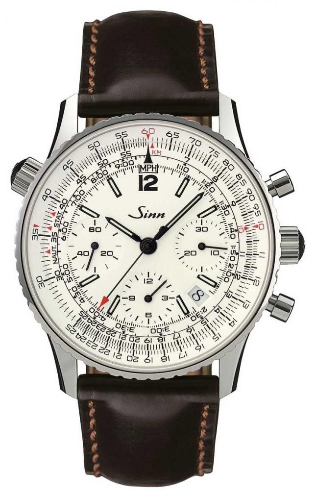 Sinn 903 St Silver The navigation chronograph 903.042