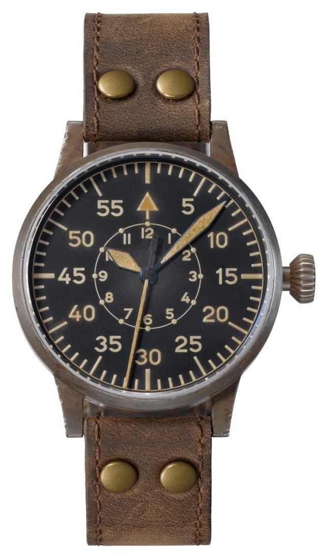 Laco   Friedrichshafen Erbstruck   Pilot Watches   Leather 861934