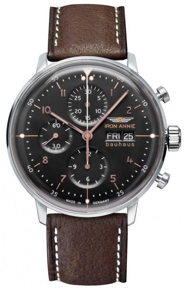 Iron Annie Bauhaus | Automatic | Chronograph | Black Dial 5018-2