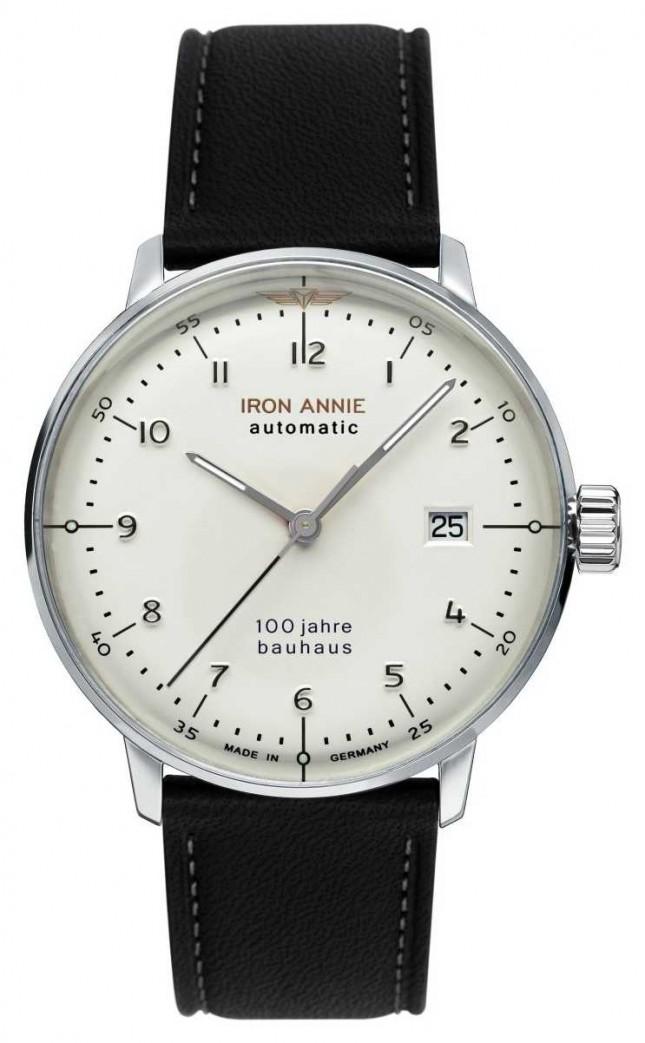Iron Annie Bauhaus | Automatic | Black Leather Strap | 5056-1