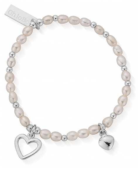 ChloBo   Forever Love   Pearl Bracelet   15cm   SBFOREVER15