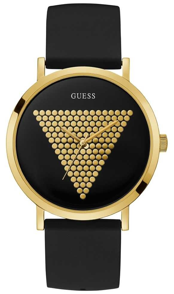 Guess | Men's | Trend | Imprint | Black Gold Watch | W1161G1