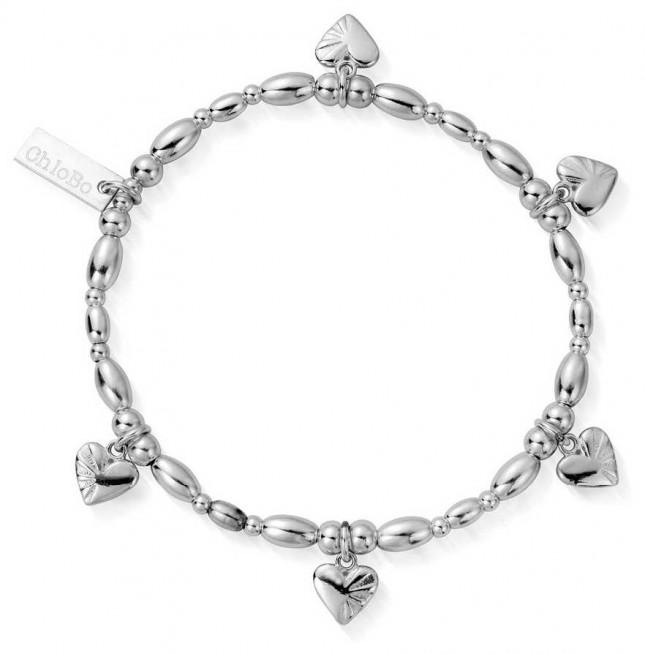 ChloBo   Sterling Silver 'Life Lover' Bracelet   SBLRSR2518