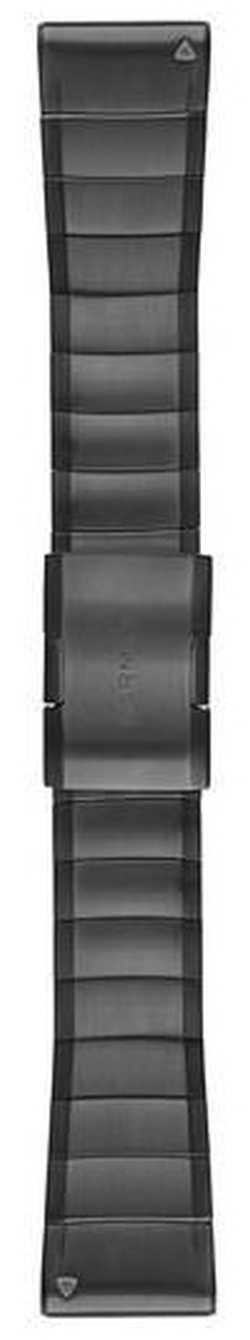 Garmin Carbon DLC Titanium Strap Only QuickFit 26mm (dark grey) 010-12741-01