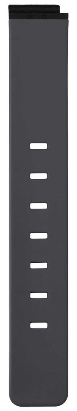 Bering Woman's Black Silicone Strap PT-15531-BVBX