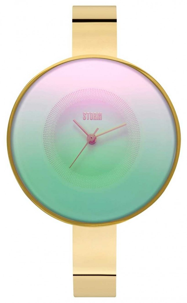 STORM   Cyllene Gold Ice   laser dial 47434/GD/IC