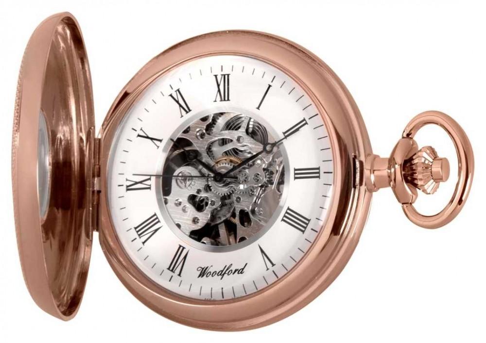 Woodford | Half Hunter | Rose Gold | Pocket Watch | 1092