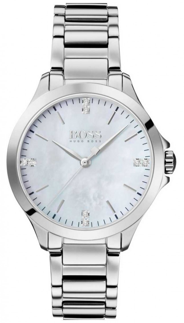 BOSS | Diamonds For Her | Stainless Steel | Mother Of Pearl | 1502522