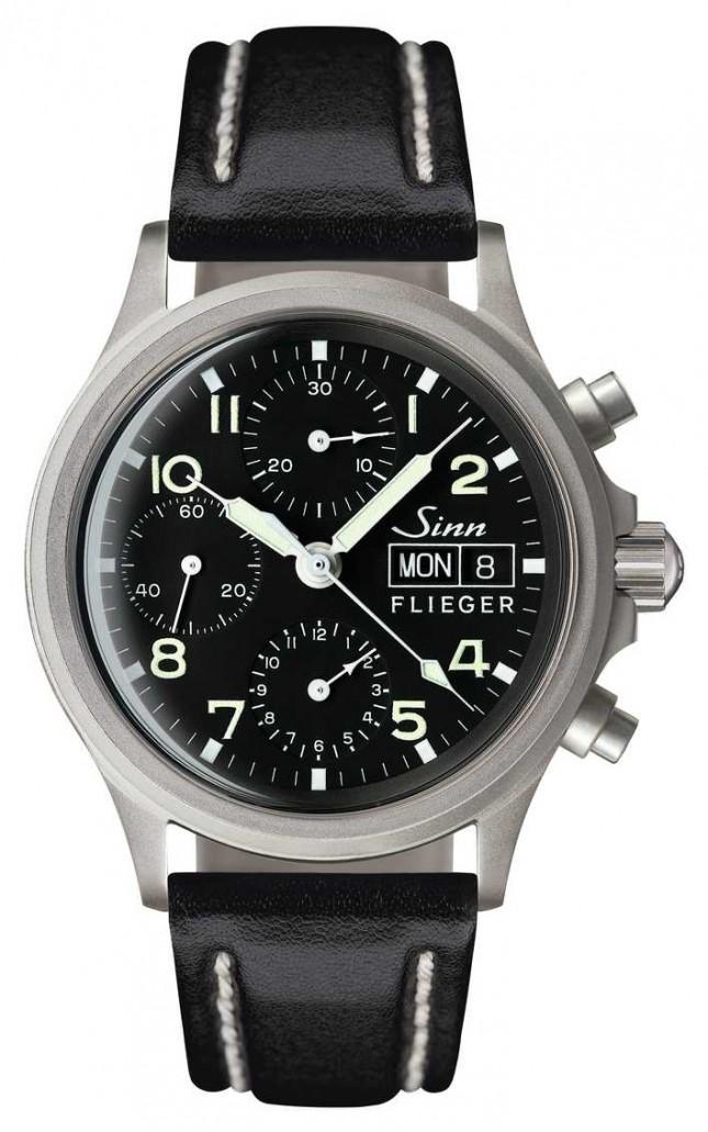 Sinn 356 Pilot Traditional Chronograph (English Date) 356.022-BL41201834001110402A