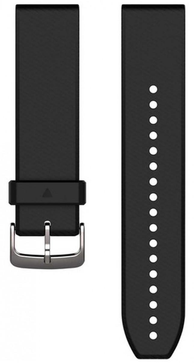 Garmin Black Rubber Strap Only QuickFit 22mm 010-12500-00