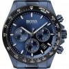 BOSS   Men's   Hero Sport Lux   Blue Steel Bracelet   Blue Dial   1513758