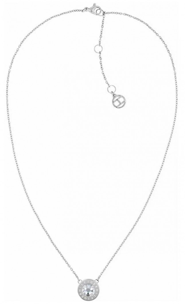 Tommy Hilfiger Classic Signature | Stone Set | Stainless Steel Necklace 2780284