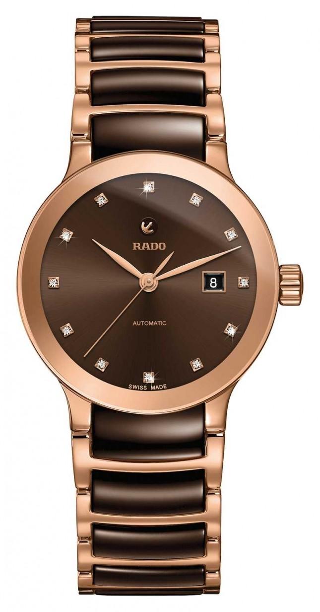RADO Centrix Automatic Diamonds Ceramic Bracelet Watch R30183752