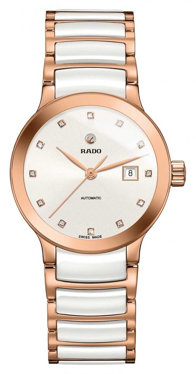 RADO Centrix Automatic Diamonds Ceramic Bracelet Watch R30183742