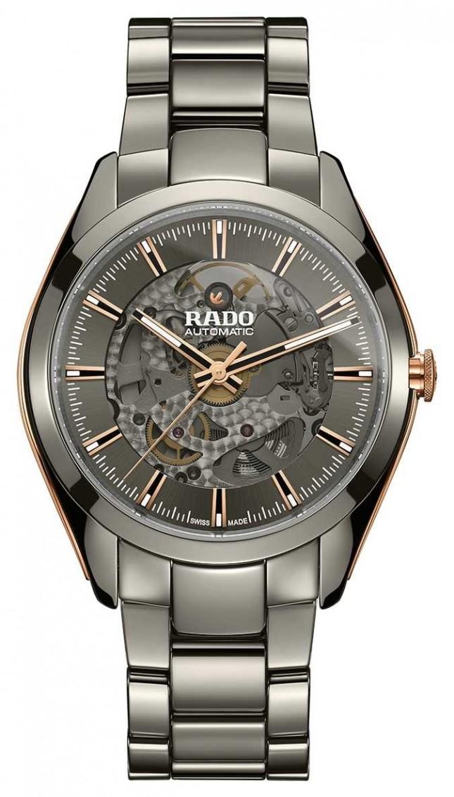 RADO Hyperchrome Automatic Open Heart Ceramic Bracelet Watch R32021102