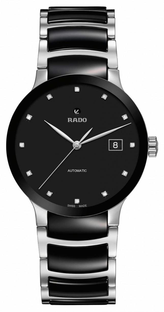 RADO Centrix Automatic Diamonds Black Ceramic Watch R30941752