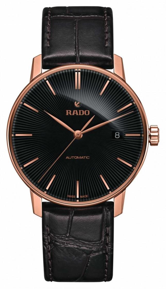 RADO Coupole Classic Automatic Brown Leather Bracelet Watch R22861165