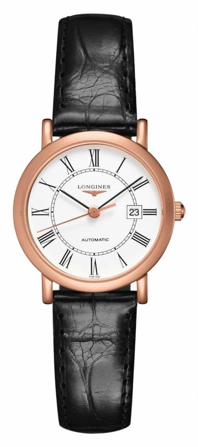 Longines Elegant Collection 18ct Rose Gold | Women's 27mm | Automatic L43788110