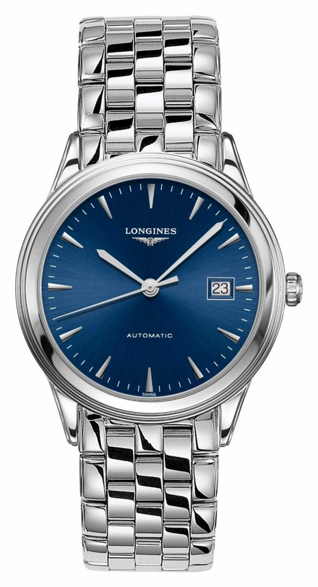 Longines   Flagship   Men's 38.5mm Stainless Steel   Swiss Automatic L49744926