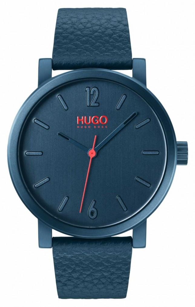 HUGO #RASE | Blue Leather Strap | Blue Dial 1530116