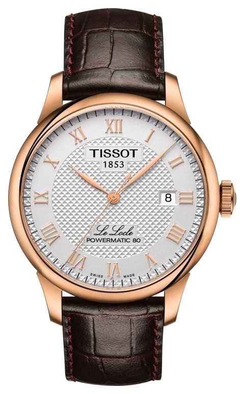 Tissot | Le Locle | Powermatic 80 | Brown Leather Strap | T0064073603300