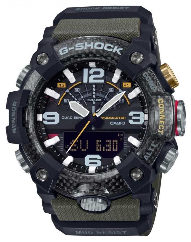 Casio Carbon Core MudMaster | Stopwatch | Bluetooth GG-B100-1A3ER
