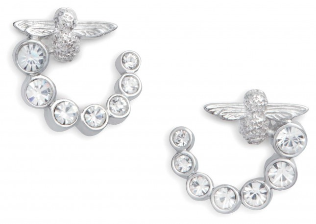 Olivia Burton Bejewelled Bee Swirl | Crystal Set | Earrings | OBJAME163