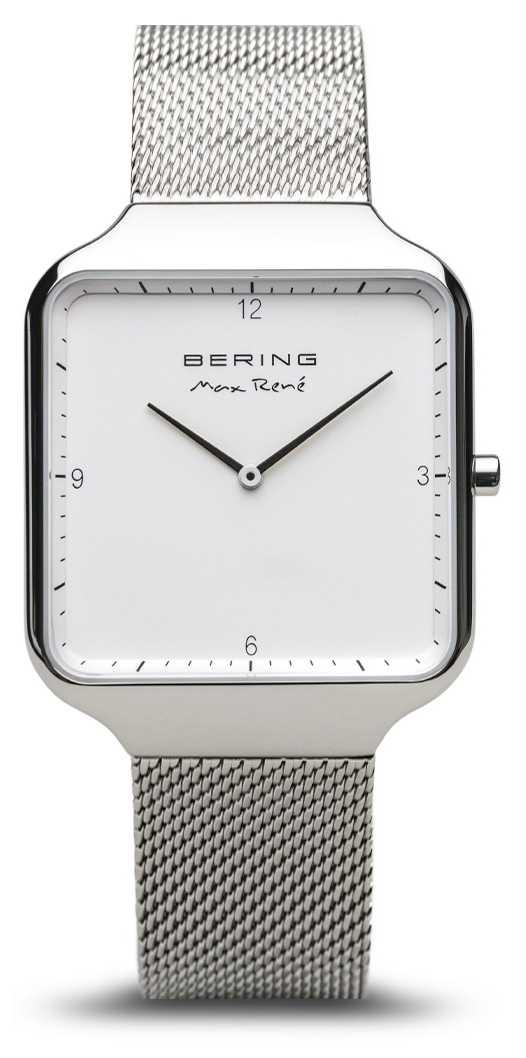 Bering | Max René | Polished Silver | Silver Mesh Bracelet | 15836-004