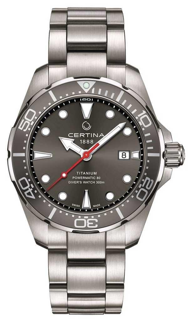 Certina | DS Action | Diver Powermatic 80 | Titanium | C0324074408100