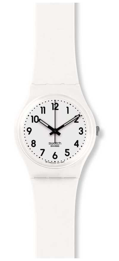 Swatch | Original Gent | Just White Soft Watch | GW151O